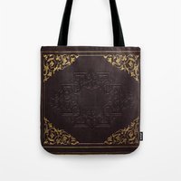 book cover Tote Bags featuring BOOK COVER by ED design for fun