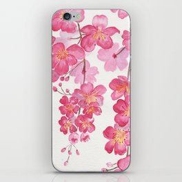 Weeping Cherry Blossom iPhone Skin