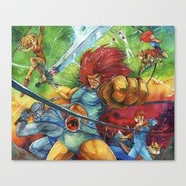 thunder, Thunder, THUNDER Canvas Print