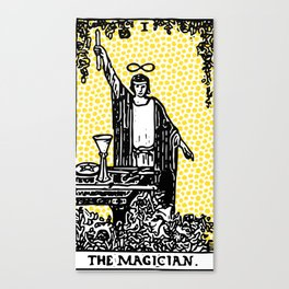 Modern Tarot - 1 The Magician Canvas Print