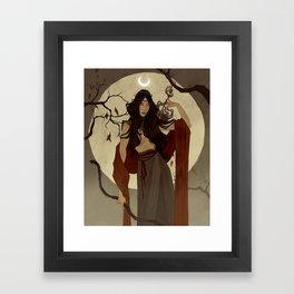 Hunter's Moon Framed Art Print