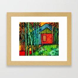 Off The Beaten Path Framed Art Print