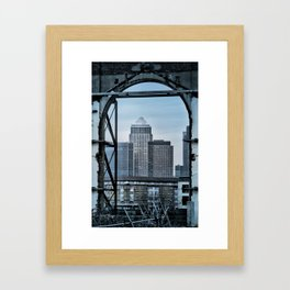 Canary Wharf Framed Art Print