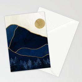 Mt Hood Sapphire Blue Wilderness Stationery Cards