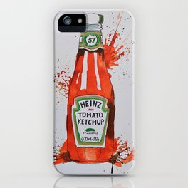 Heinz Tomato Ketchup Bottle iPhone Case