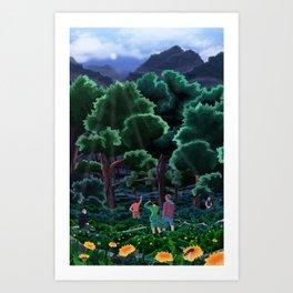 Excelsior Art Print