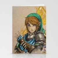 hyrule Stationery Cards featuring Hyrule Warriors by AdamScythe