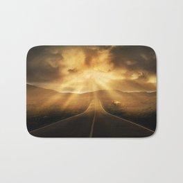 Road califonia Bath Mat