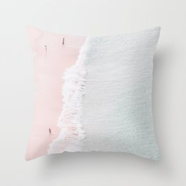 Sands of Silk Throw Pillow