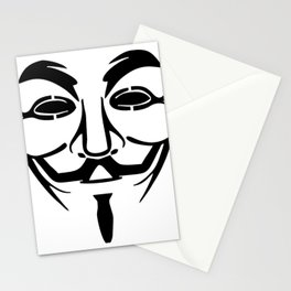 Anonymous Vendetta Stationery Cards