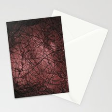 Lines in Space Stationery Cards