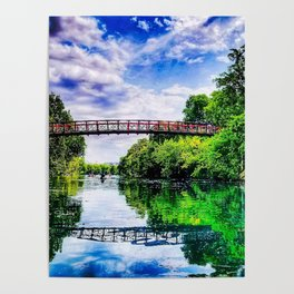 Barton Springs Bridge Poster