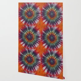 Eye Ring Tie Dye Rainbow Wallpaper