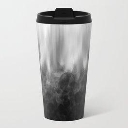 B&W Spotted Blur Travel Mug