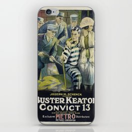 Vintage poster - Convict 13 iPhone Skin