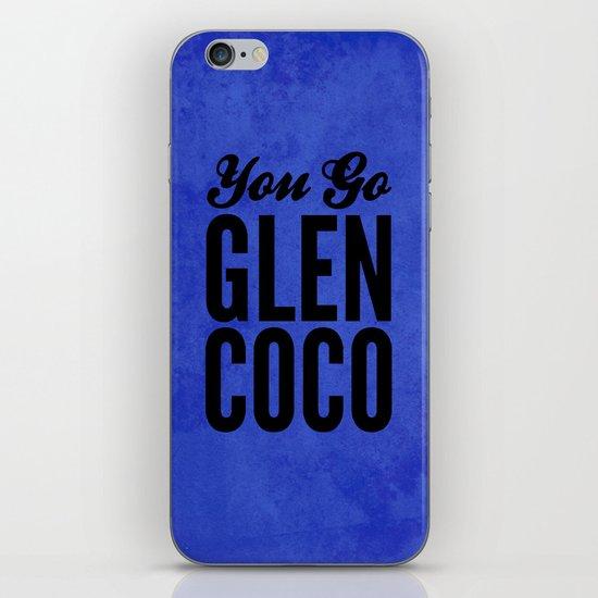 Glen Coco Blue iPhone & iPod Skin