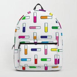 Test tube pattern Backpack