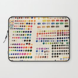 Artist Color Swatches - watercolor, prisma, paints Laptop Sleeve