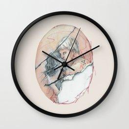 14/02 : Love Triangle  Wall Clock