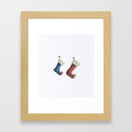 Stockings  Framed Art Print