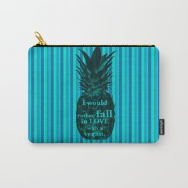 I would rather fall in love with a vegan - Carlton Lassiter quotes Carry-All Pouch