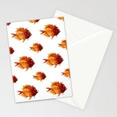 Orange Fish Stationery Cards