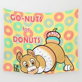 Go-Nuts for Donuts Wall Tapestry