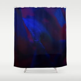 MACRO NEON TEA Shower Curtain