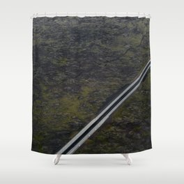 Meeting by chance Shower Curtain