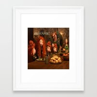 brave Framed Art Prints featuring Brave by store2u