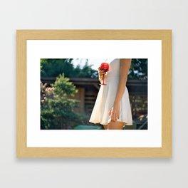 the garden party Framed Art Print