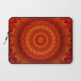 Muladhara chakra mandala Laptop Sleeve