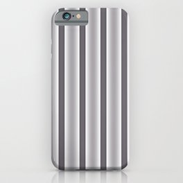 Gray Stripes iPhone Case