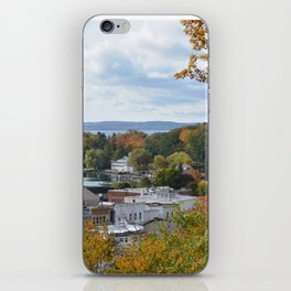 Harbor Springs Bay- View from Bluff-Fall-(1) iPhone Skin