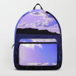 meadow and clouds db Backpack