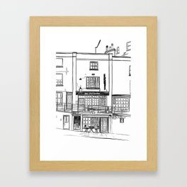 The Portcullis, Clifton Framed Art Print