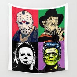 Horror Pop Art Wall Tapestry