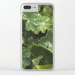 Live the leaves!!! Clear iPhone Case