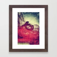 Of Your Own Doing Framed Art Print