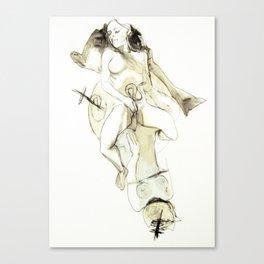 Tristan Corbière, Thick Black Trace, Pudentiane Canvas Print