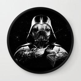 Pug Vader Wall Clock