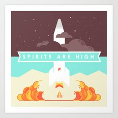 High Spirits Art Print