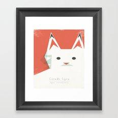 Canada Lynx Framed Art Print