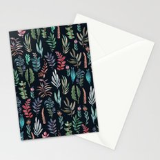 For Her, (nigth Garden!!) Stationery Cards
