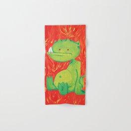 Little Green Demon Baby Hand & Bath Towel