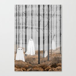 The Woods are full of Ghosts Canvas Print