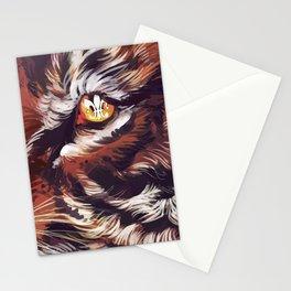Tiger Fleur de Lis Stationery Cards