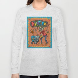 Day of the Dead PALETERO Sings with Angel Popsicles Long Sleeve T-shirt