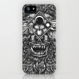Beast Within iPhone Case