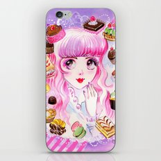 Dreaming of Sweets iPhone & iPod Skin